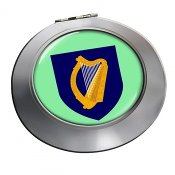 Coat of arms of Ireland Round Mirror