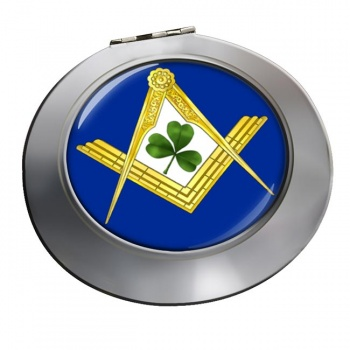 Irish Masons Masonic Chrome Mirror