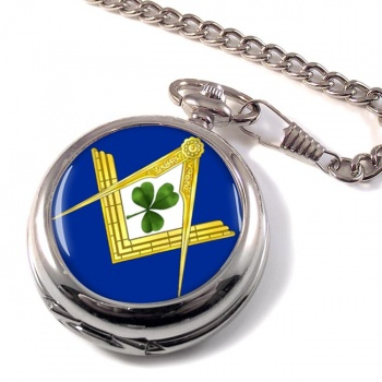 Irish Masons Masonic Pocket Watch