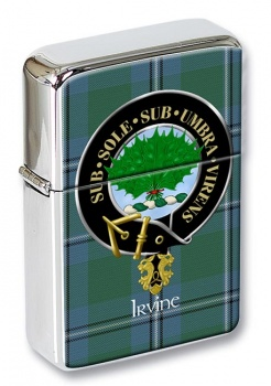 Irvine Scottish Clan Flip Top Lighter