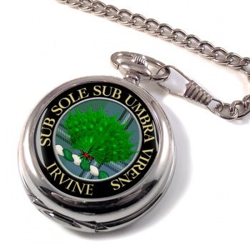 Irvine Scottish Clan Pocket Watch