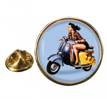Iso Scooter Round Lapel