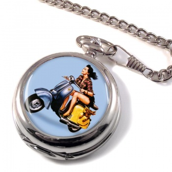 Iso Scooter Pocket Watch