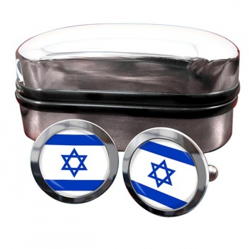 Israel  Flag Cufflinks