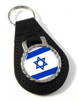 Israel  Leather Key Fob