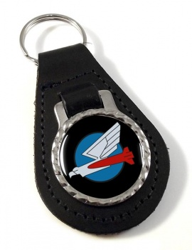 110 Squadron IAF Leather Key Fob