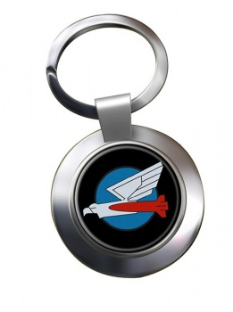 110 Squadron IAF Chrome Key Ring