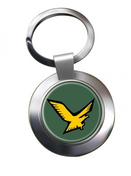 140 Squadron IAF Chrome Key Ring