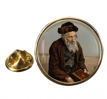 An Israelite of Jerusalem Round Pin Badge