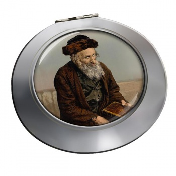 An Israelite of Jerusalem Chrome Mirror