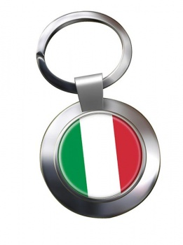 Italy Italia Metal Key Ring