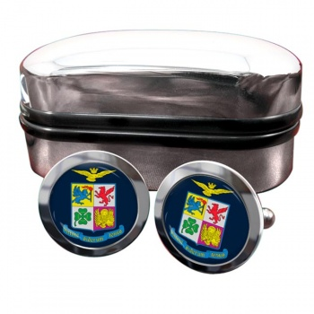 Italian Air Force (Aeronautica Militare) Round Cufflinks