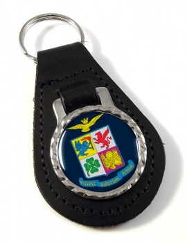 Italian Air Force (Aeronautica Militare) Leather Key Fob