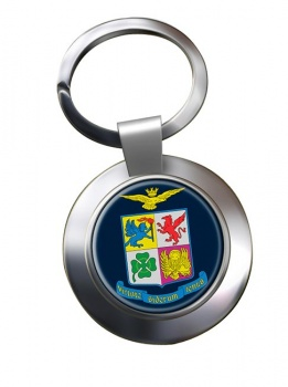 Italian Air Force (Aeronautica Militare) Chrome Key Ring