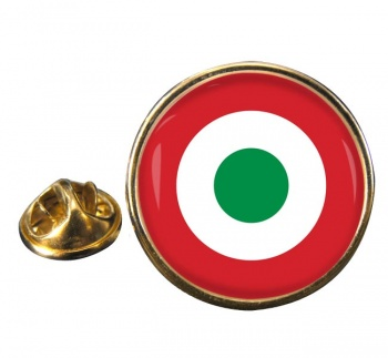 Italian Air Force (Aeronautica Militare) Roundel Round Pin Badge