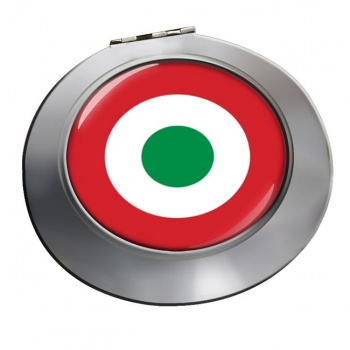 Italian Air Force (Aeronautica Militare) Roundel Chrome Mirror
