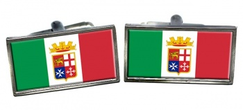 Italian Navy (Marina Militare) Rectangle Cufflinks