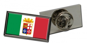 Italian Navy (Marina Militare) Rectangle Pin Badge