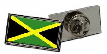 Jamaica Flag Pin Badge