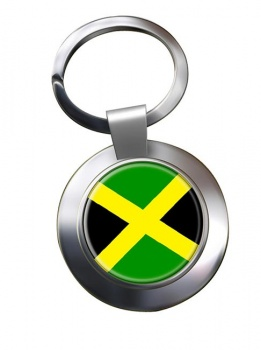 Jamaica Metal Key Ring