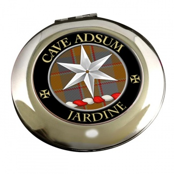 Jardine Scottish Clan Chrome Mirror