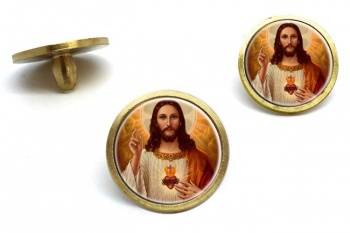 Jesus Sacred Heart Golf Ball Markers