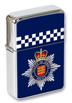 States of Jersey Police Flip Top Lighter