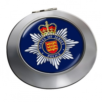 States of Jersey Police Chrome Mirror