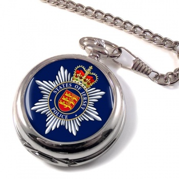 States of Jersey Police Pocket Watch
