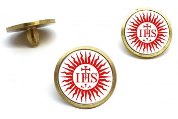 Jesuit Sun Golf Ball Markers