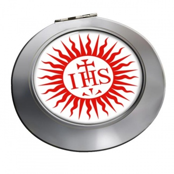 Jesuit Sun Chrome Mirror