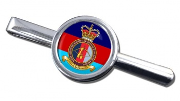 Joint Ground Based Air Defence Headquarters Round Cufflink and Tie Clip Set