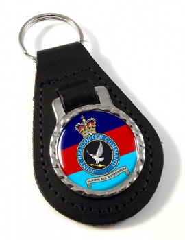 Joint Helicopter Command Leather Key Fob