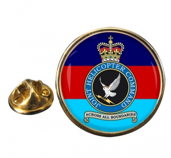 Joint Helicopter Command Round Pin Badge
