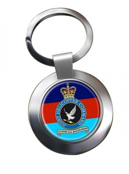 Joint Helicopter Command Chrome Key Ring