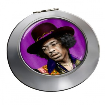 Jimi Hendrix Chrome Mirror