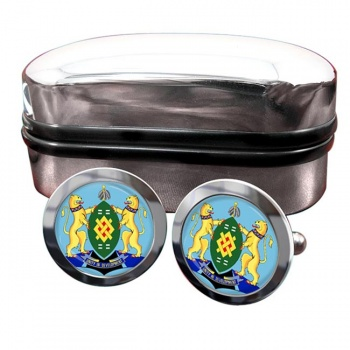 Johannesburg (South Africa) Crest Cufflinks