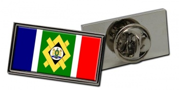Johannesburg (South Africa) Flag Pin Badge