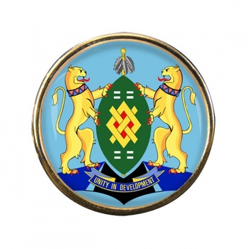 Johannesburg (South Africa) Round Pin Badge