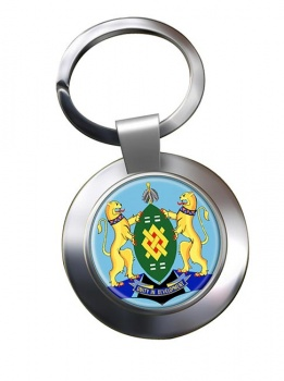 Johannesburg (South Africa) Metal Key Ring