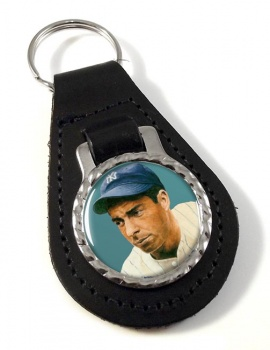 Joe DiMaggio Leather Key Fob
