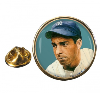 Joe DiMaggio Round Pin Badge
