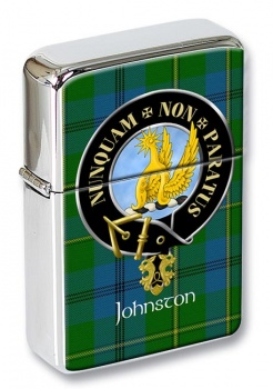 Johnston Scottish Clan Flip Top Lighter