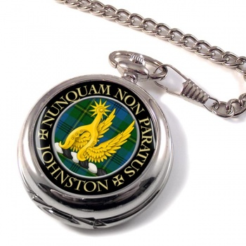 Johnston Scottish Clan Pocket Watch