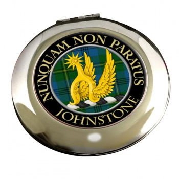 Johnstone Scottish Clan Chrome Mirror