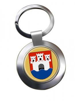 Jonkoping (Sweden) Metal Key Ring