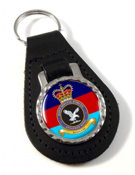 Joint Special Forces Aviation Wing Leather Key Fob