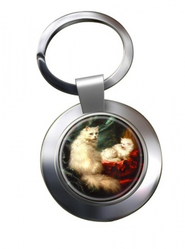 A Mothers Pride by Carl Kahler Metal Key Ring