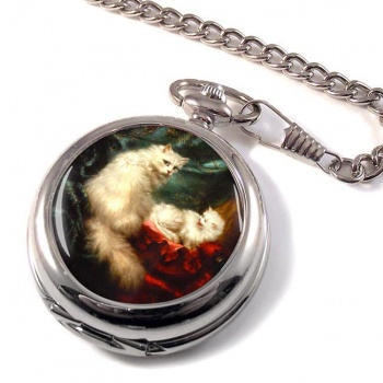 A Mothers Pride by Carl Kahler Pocket Watch