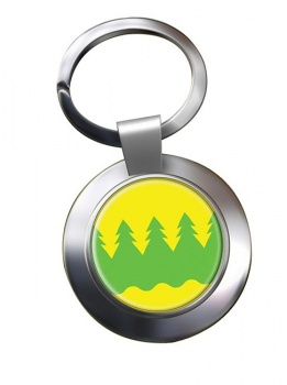 Kainuu Metal Key Ring